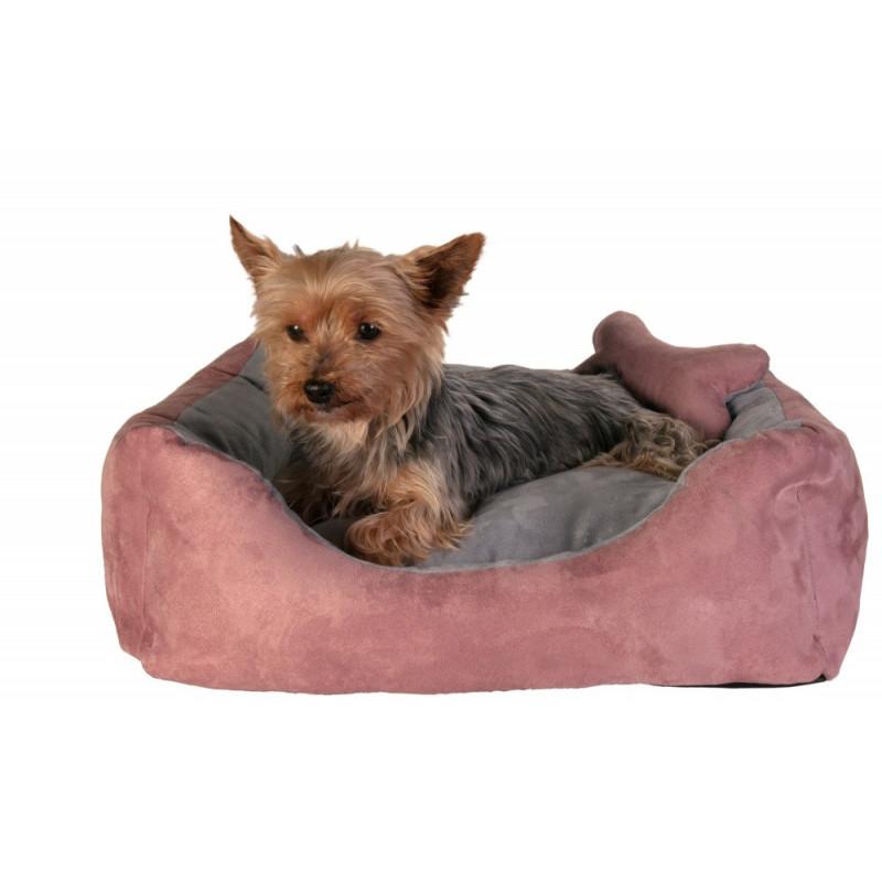 Hundebett rosa grau - Online Shop Schweiz